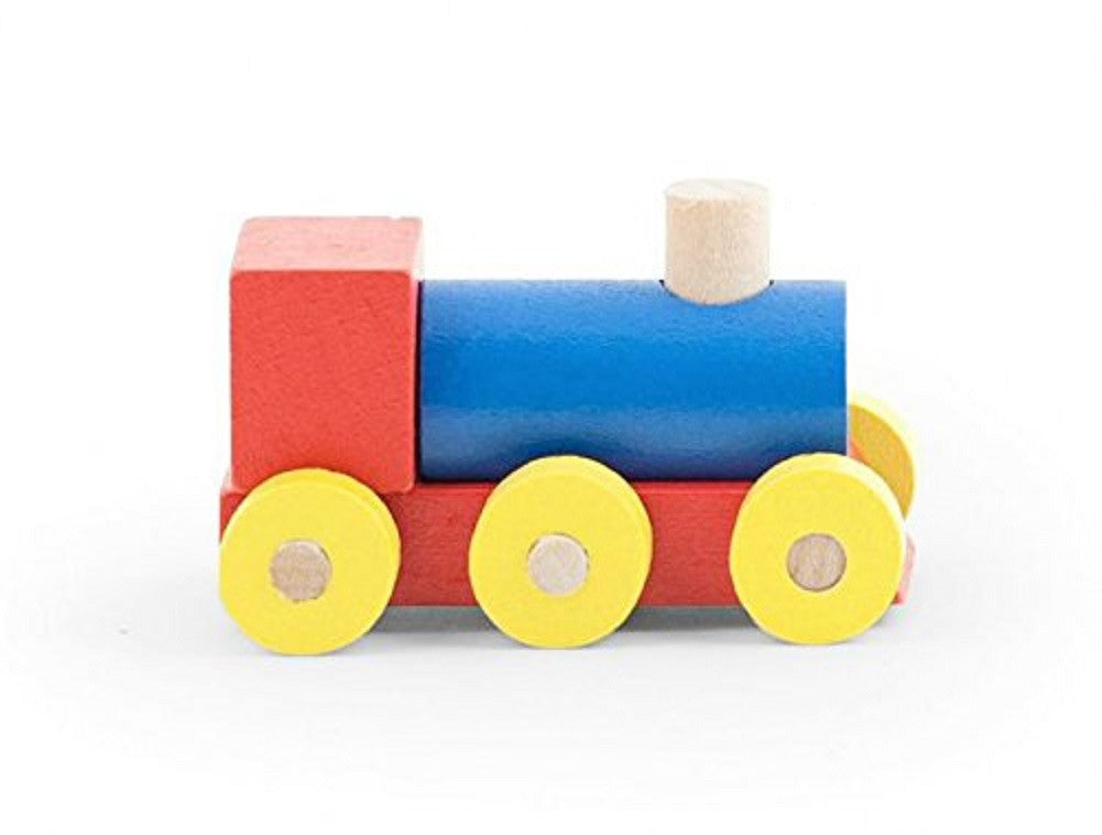 Mini Wood Puzzle Train Engine Car Model Kit by Kikkerland - Off The Wall Toys and Gifts