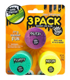 Oddly Satisfying Glitzi, Fluffy, and Neon 3 Pack Squishy Like Slime by Compound Kings