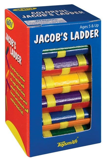Colorful Jacob's Ladder Optical Illusion Toy - Off The Wall Toys and Gifts