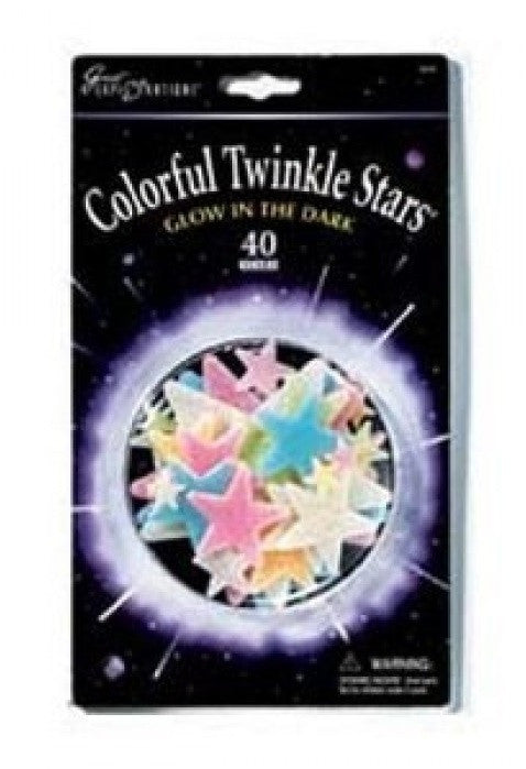 Colorful Twinkle Stars Glow In the Dark - Off The Wall Toys and Gifts