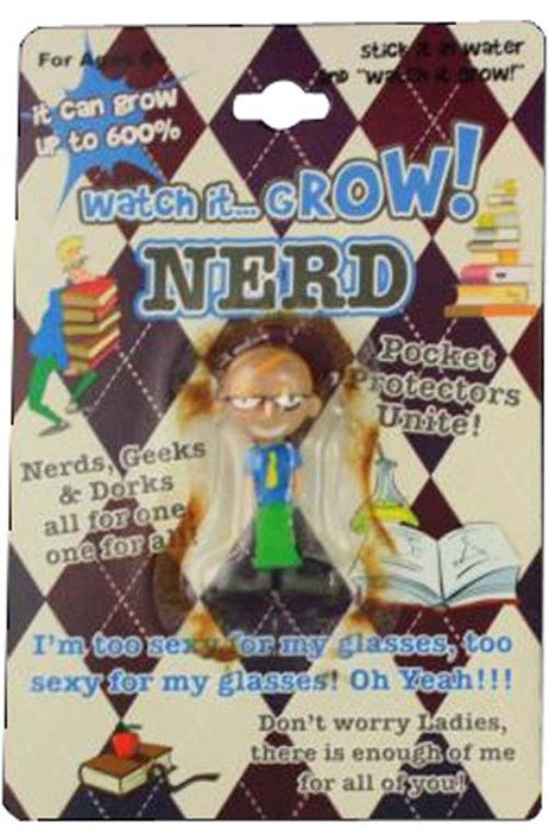 Grow A Nerd: Collectible Magic Growing Thing - Off The Wall Toys and Gifts