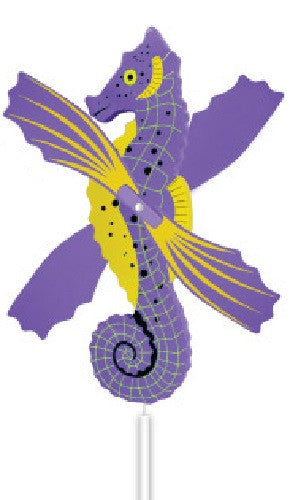 Sea Horse WhirlyGig - Spinning Lawn Ornament - Off The Wall Toys and Gifts