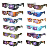 Holographic Wild Eyes Animal 3D Glasses Set of 12 - Off The Wall Toys and Gifts