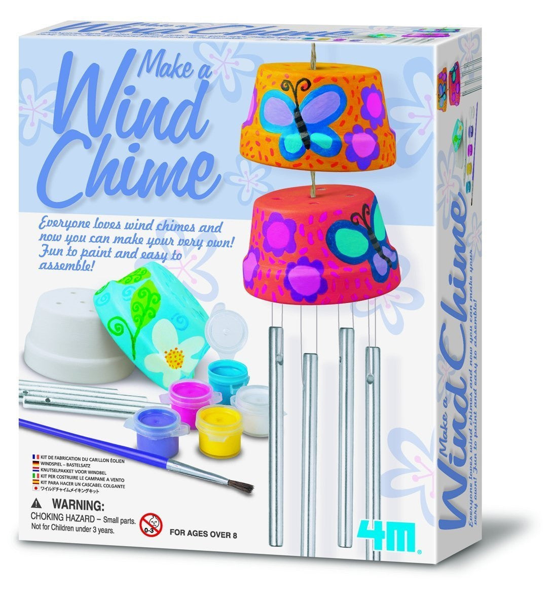 Make a Wind Chime a 4M Kit from Toysmith - Off The Wall Toys and Gifts