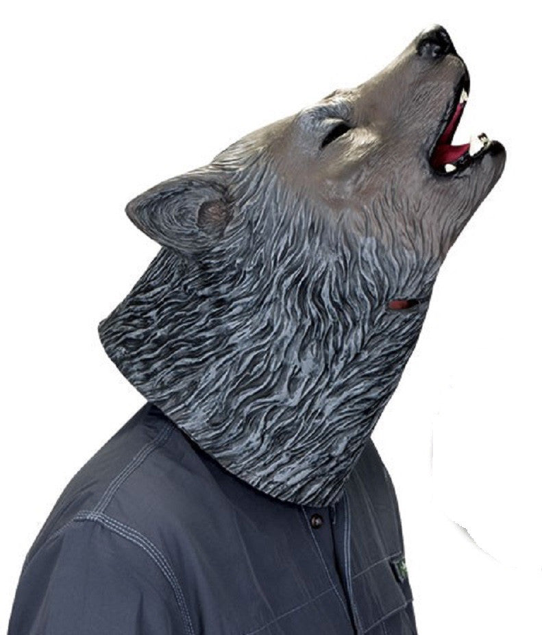 Howling Wolf Latex Mask by Accoutrements - Halloween Costume