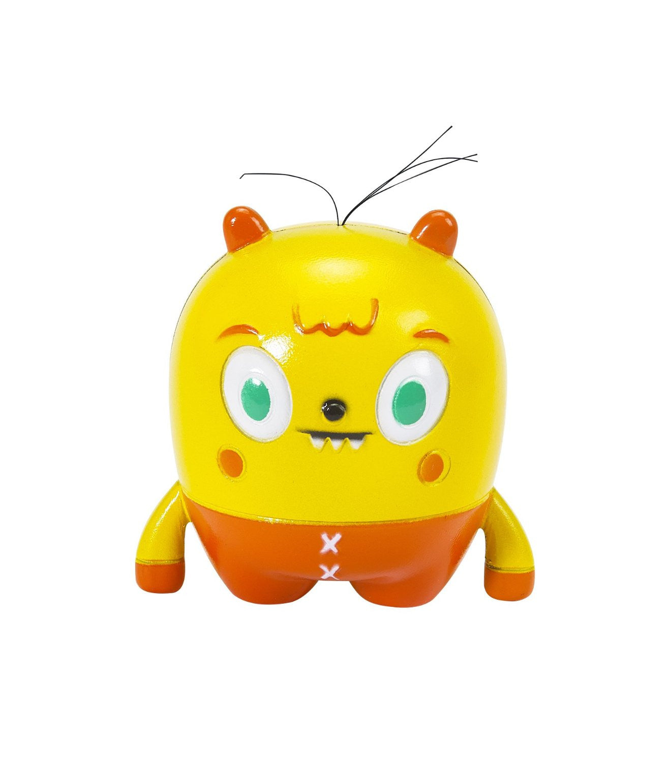 Moji Mi Living Emoticon Figure in Yellow by Little Kids - Off The Wall Toys and Gifts