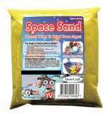 Yellow Space Sand: 1lb of Hydrophobic Sand - Off The Wall Toys and Gifts