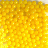 Yellow Rainbow Water Beads Growing Polymer Gel Balls-1 Pound - Off The Wall Toys and Gifts
