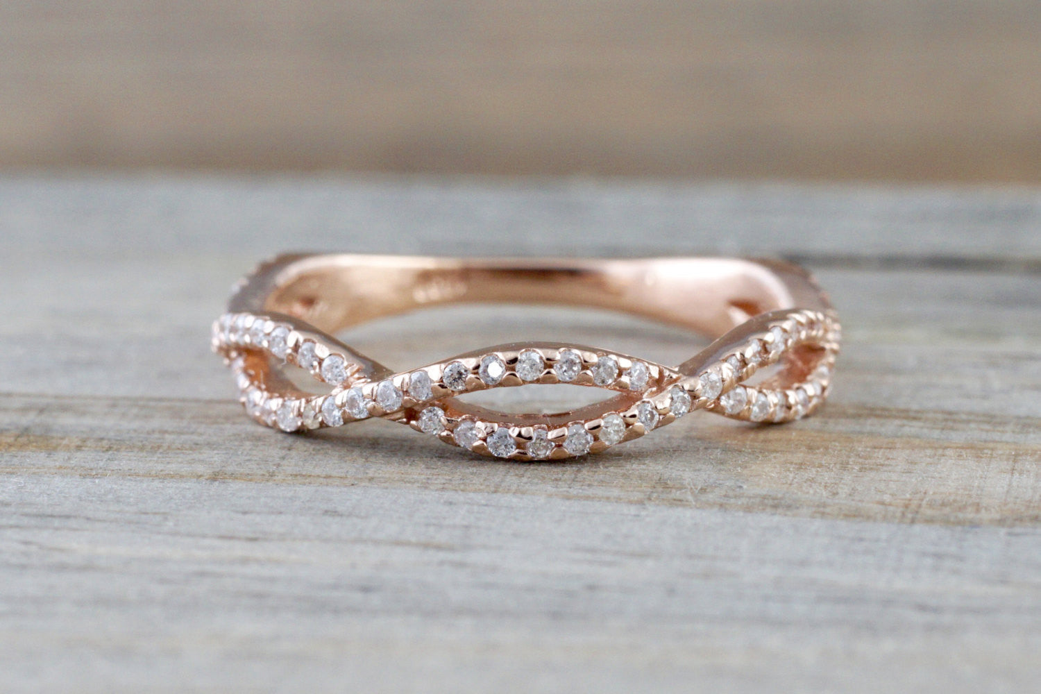 band infinity in greenwich st jewelers diamond beverley rose gold k