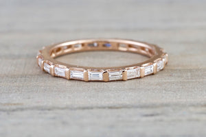 Vertical Channel Set Baguette Diamond Eternity RR010015
