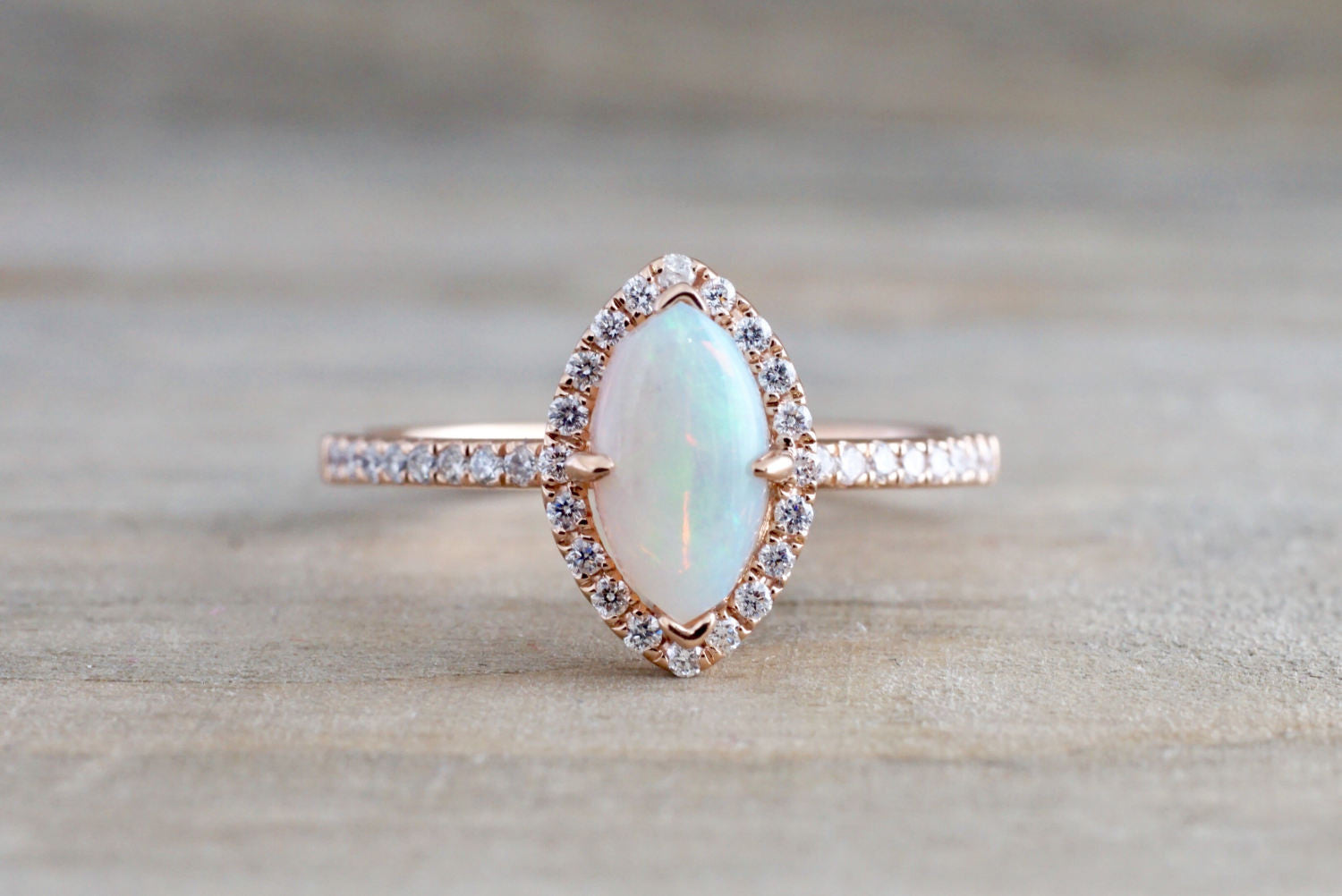media ring deco engagement sterling opal rings gemstone art natural bihls promise alternative