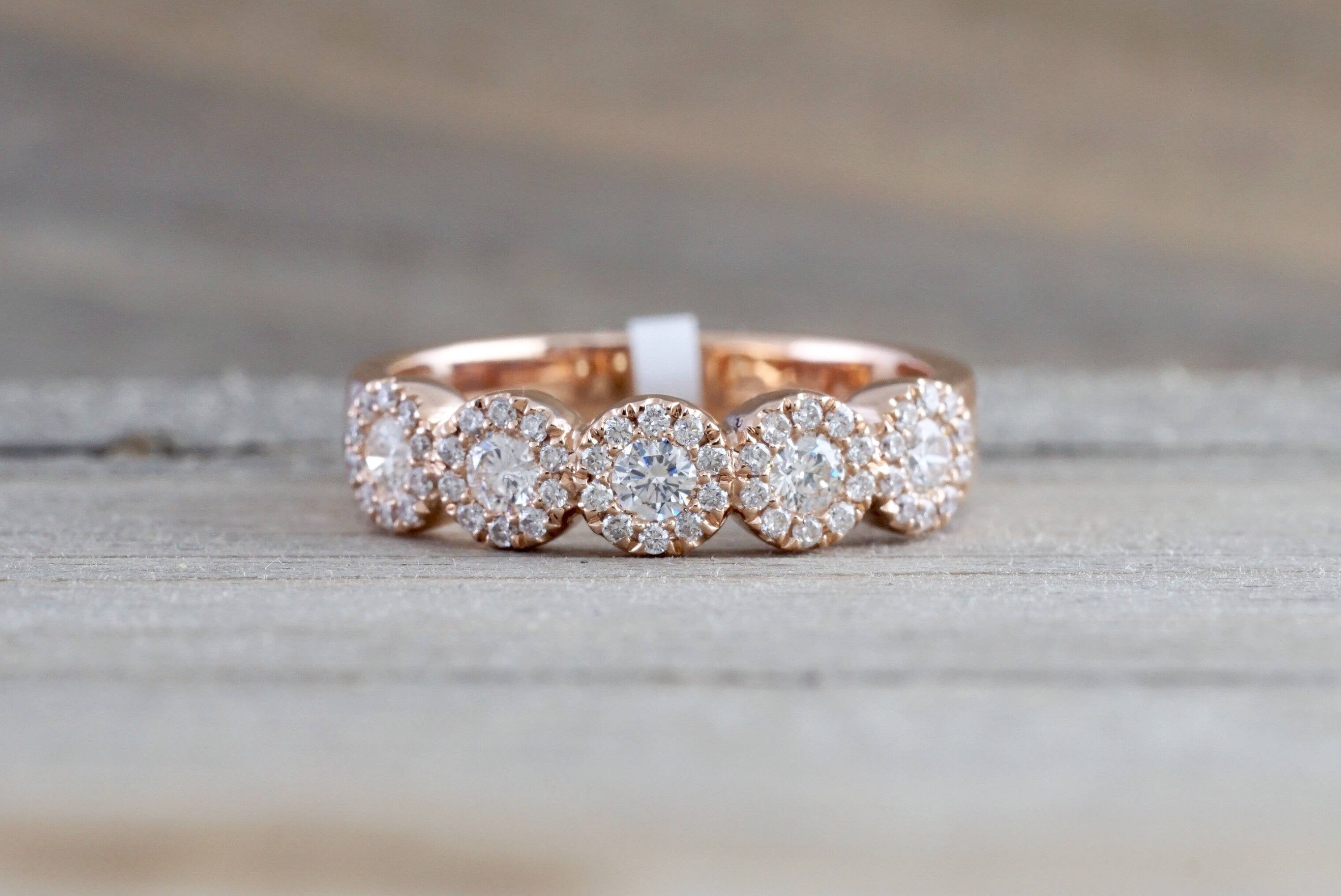 wedding bands band cushion halo with want ring i s engagement the but rose diamond gold two pin perfect