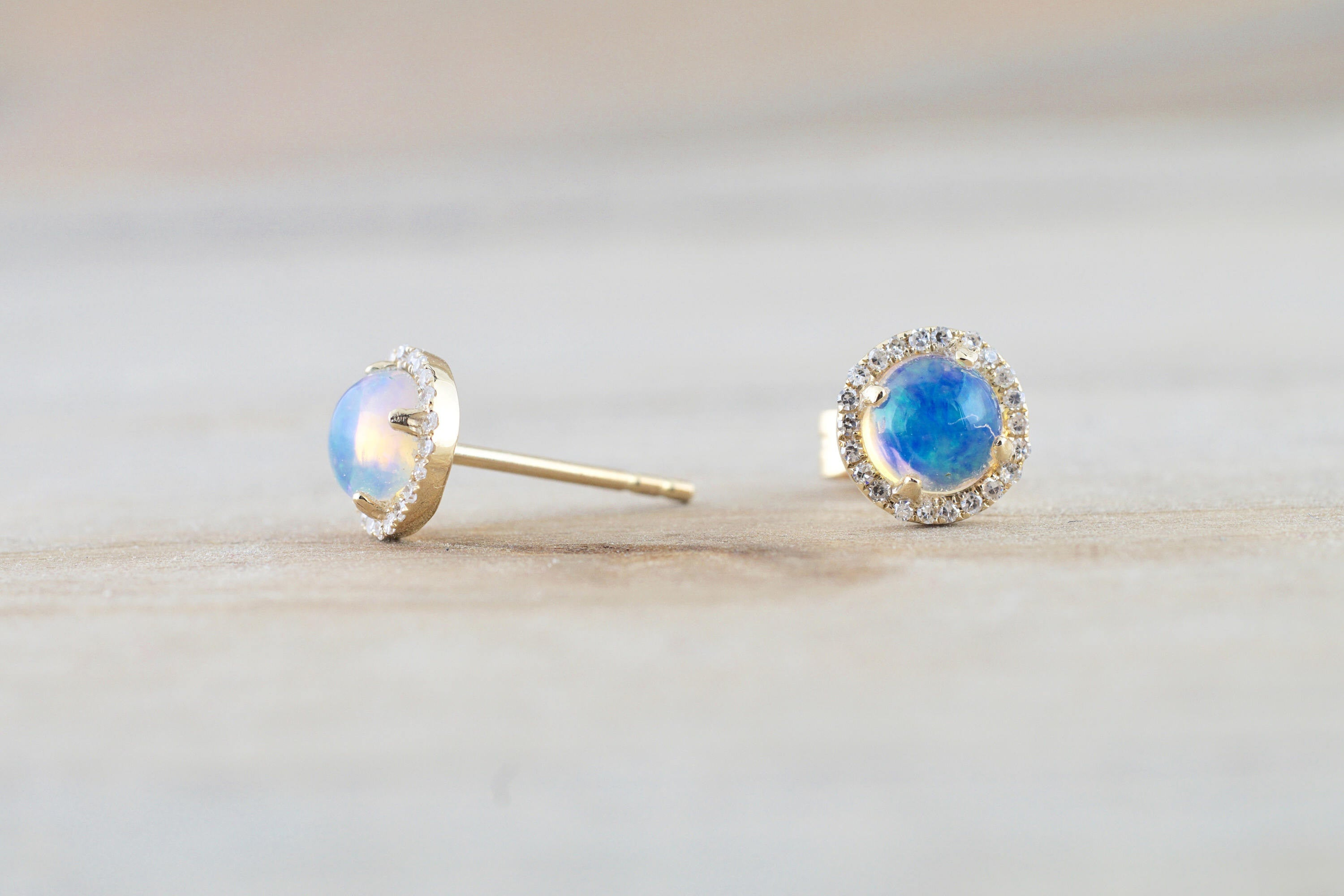 opal brilliant yellow round halo il fullxfull earrings studs gold products diamond