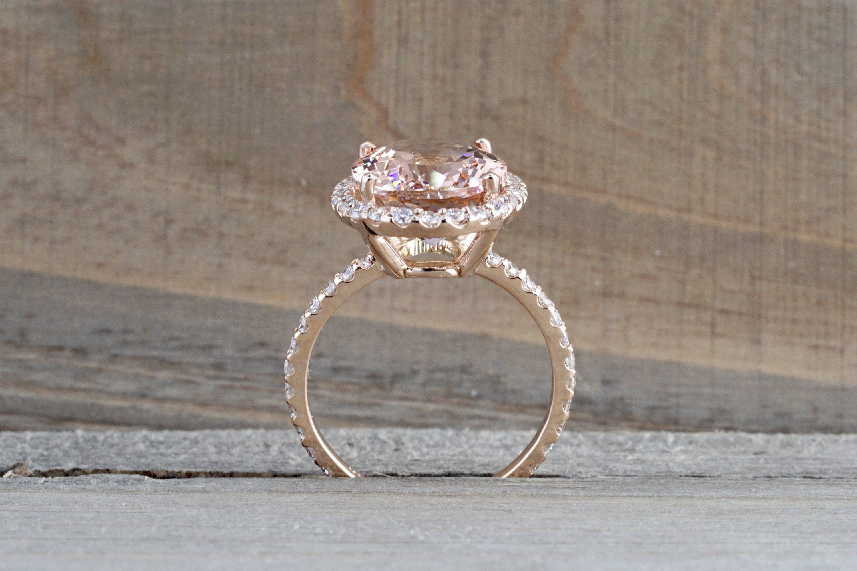and vanilla le vian with wedding morganite diamonds rings tw gold strawberry chocolate ring in