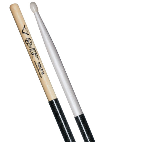 BAQUETA VATER EXTENDED PLAY SERIES POWER 5B PUNTA NYLON