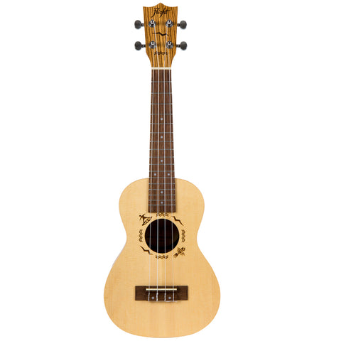 UKULELE CONCIERTO FLIGHT SP/ZEB DUC525