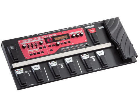 PEDALERA DE EFECTO BOSS LOOP STATION RC-300