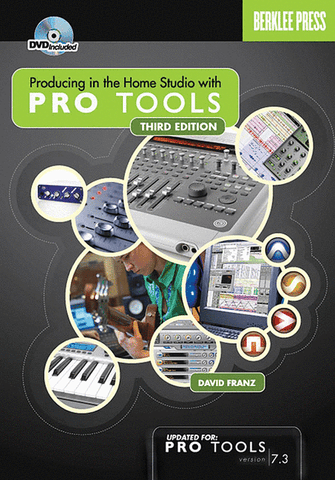 PRODUCING HOME STUDIO PRO TOOLS /CD
