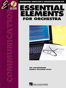 ESSENTIAL ELEMENTS FOR STRINGS ORCHESTRA DIRECTORS CUMMUNICATION KIT /CD
