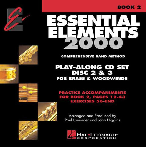ESSENTIAL ELEMENTS 2000 CD SET 2 PLAY ALONG /CD