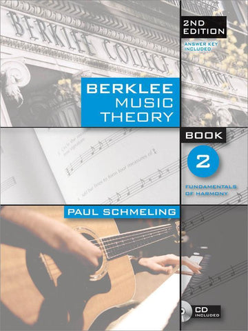BERKLEE MUSIC THEORY BOOK2 2ND EDITION /CD