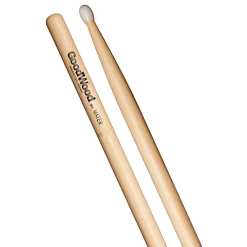 BAQUETAS GOODWOOD 2B HICKORY PUNTA NYLON GW2BN