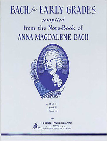 ANNA MAGDALENA BACH FOR EARLY GRADES 1