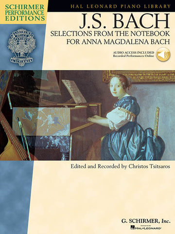 BACH SELECTIONS FROM THE NOTEBOOK FOR ANNA MAGDALENA