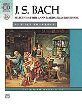 BACH ANA MAGDALENAS NOTEBOOK /CD