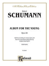 ALBUM FOR YOUNG ROBERT SCHUMANN