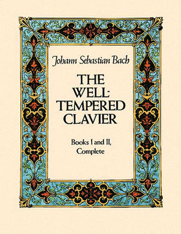 BACH  WELL TEMPERED CLAVIER BK I & II