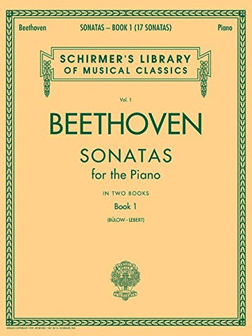 BEETHOVEN SONATAS BOOK 1 PIANO SOLO