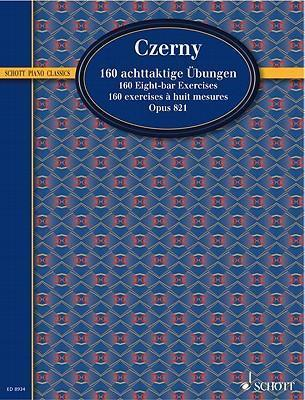 CZERNY 160 EIGHT-BAR EXERCISES OP. 821