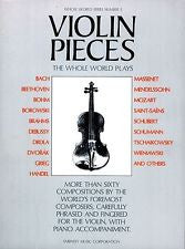 VIOLIN PIECES THE WHOLE WORLD