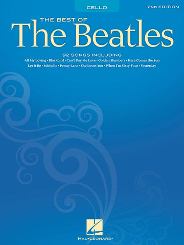 BEST OF THE BEATLES FOR CELLO – 2ND EDITION