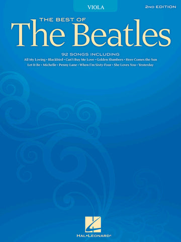 THE BEATLES THE BEST OF FOR VIOLA