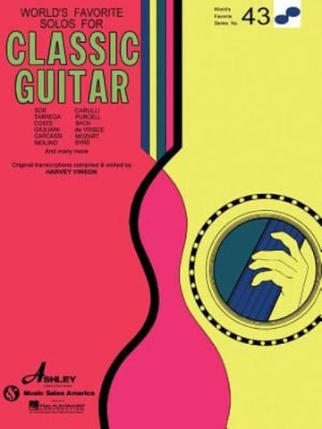 WORLD´S FAVORITE SERIES SOLOS CLASSIC GUITAR VOL. 43
