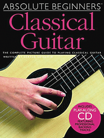 ABSOLUTE BEGINNERS CLASSICAL GUITAR /CD