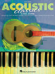 ACOUSTIC CLASSICS FOR EASY PIANO