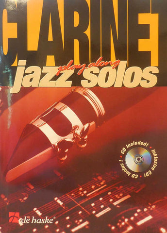 PLAY ALONG JAZZ SOLOS CLARINETE  /CD