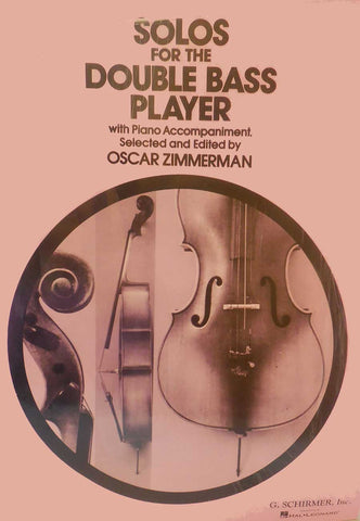 SOLOS FOR THE DOUBLE BASS PLAYER & PIANO
