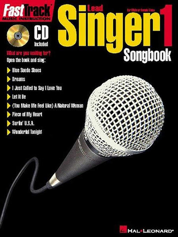 FAST TRACK LEAD SINGER SONGBOOK 1 /CD