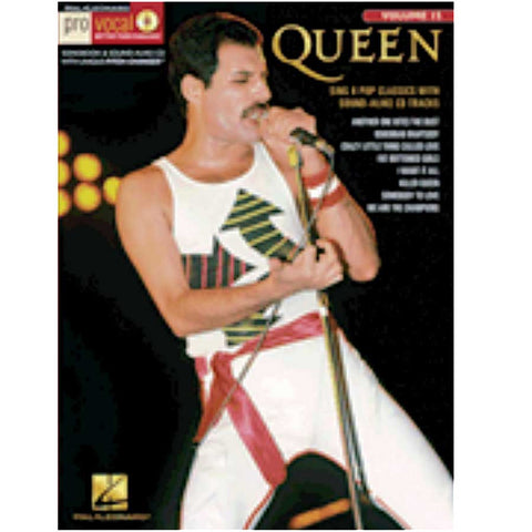 PRO VOCAL MENS EDICIÓN QUEEN VOL. 15 /CD