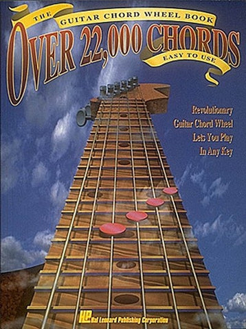 GUITAR CHORD WHEEL BOOK OVER 22000 CHORDS