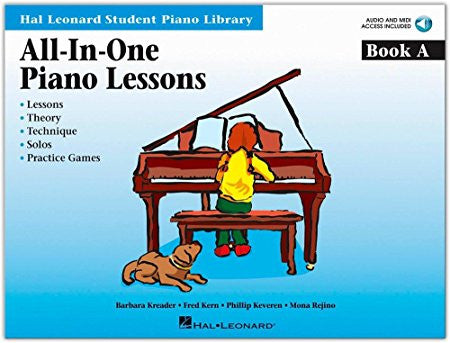 ALL IN ONE PIANO LESSONS BOOK A /CD