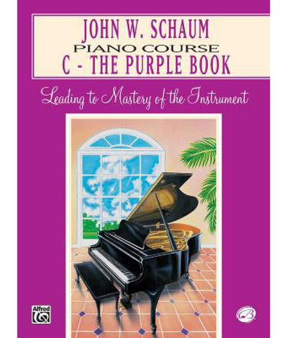 JOHN W. SCHAUM - PIANO COURSE C THE PURPLE BOOK (REVISED)