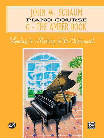 PIANO COURSE G THE AMBER BOOK (REVISED)