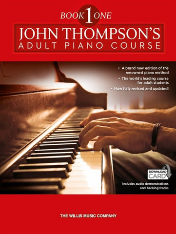 ADULT PIANO COURSE BOOK 1 JOHN THOMPSON