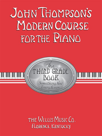 JOHN THOMPSON COURSE PIANO THIRD GRADE