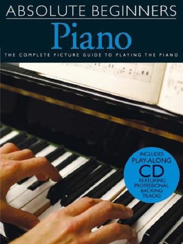 ABSOLUTE BEGINNERS PIANO /CD